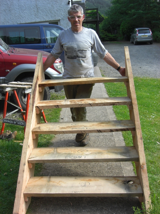 Putting together the steps for the first time
