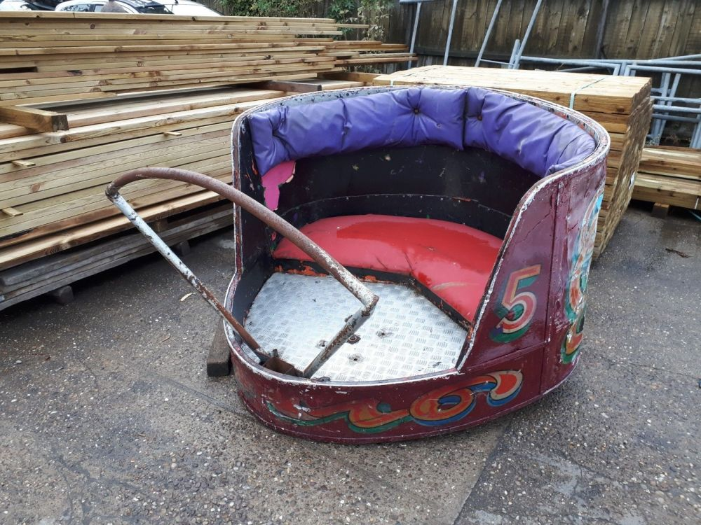 Reclaimed Waltzer carriage